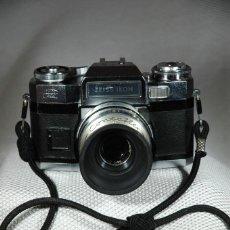 Cámara de fotos: CÁMARA DE 35 MM. REFLEX ZEISS IKON CONTAFLEX SUPER BC EN FUNCIONAMIENTO. Lote 263536285