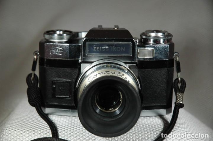 Cámara de fotos: CÁMARA DE 35 MM. REFLEX ZEISS IKON CONTAFLEX SUPER BC EN FUNCIONAMIENTO - Foto 2 - 263536285