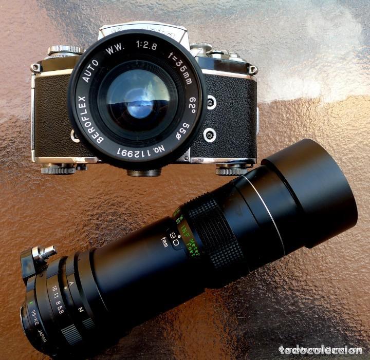 Cámara de fotos: EXAKTA VAREX CLÁSICA CON 35 MM MACRO.Mod. VX IIa + zoom 90-190 - Foto 3 - 252490080