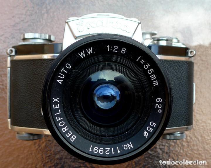 Cámara de fotos: EXAKTA VAREX CLÁSICA CON 35 MM MACRO.Mod. VX IIa + zoom 90-190 - Foto 9 - 252490080