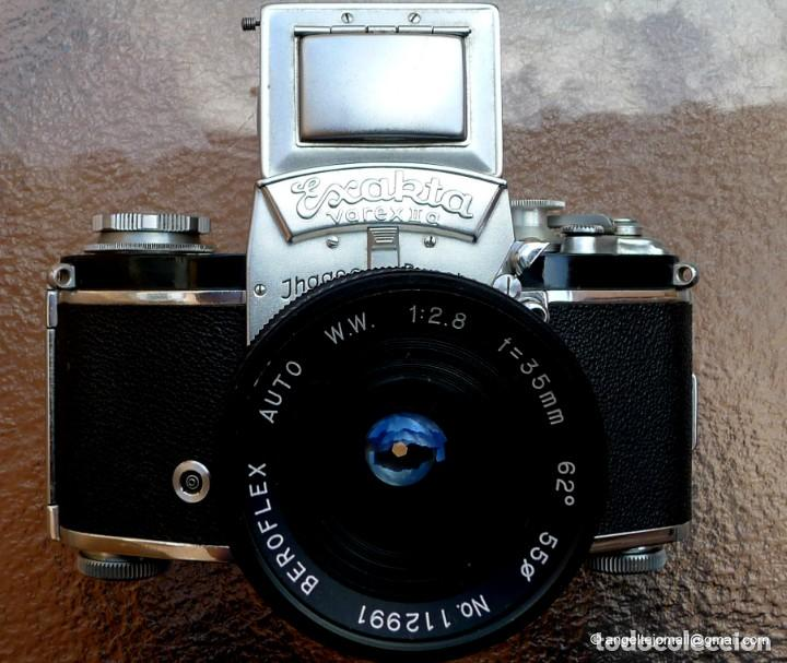 Cámara de fotos: EXAKTA VAREX CLÁSICA CON 35 MM MACRO.Mod. VX IIa + zoom 90-190 - Foto 11 - 252490080