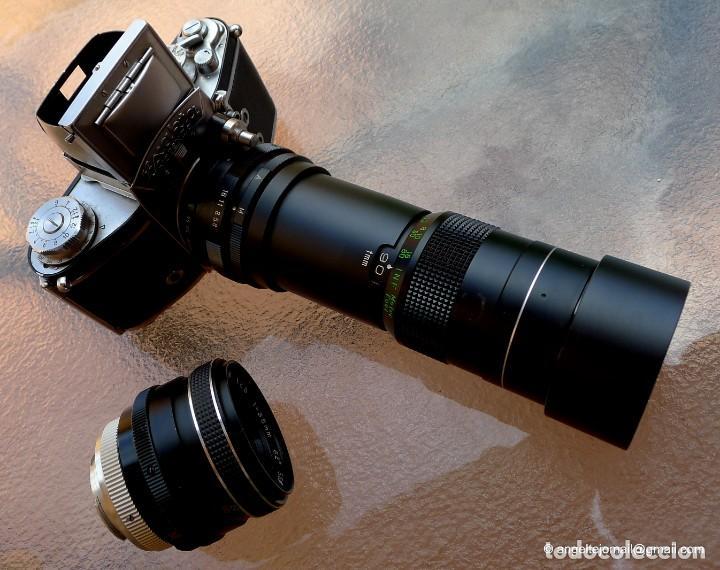 Cámara de fotos: EXAKTA VAREX CLÁSICA CON 35 MM MACRO.Mod. VX IIa + zoom 90-190 - Foto 14 - 252490080