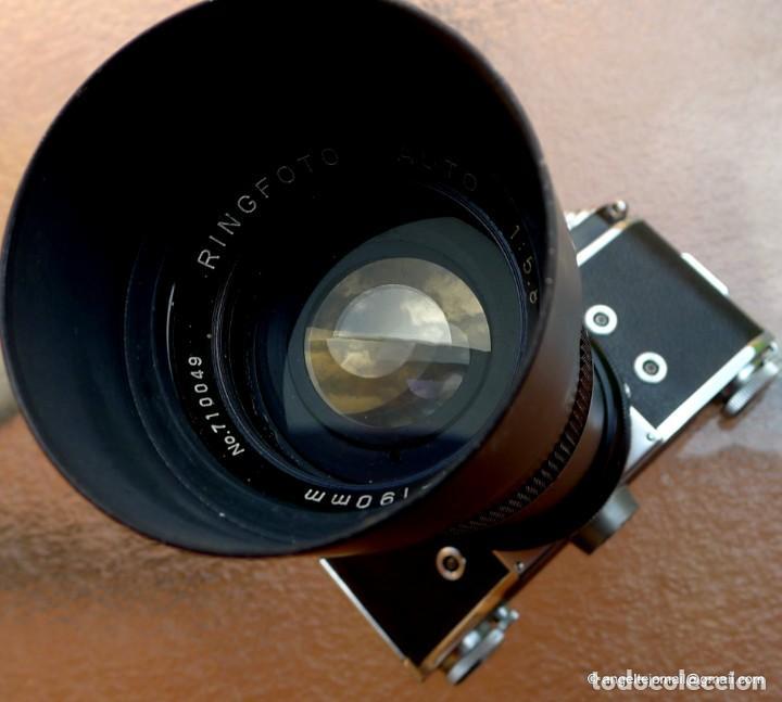 Cámara de fotos: EXAKTA VAREX CLÁSICA CON 35 MM MACRO.Mod. VX IIa + zoom 90-190 - Foto 15 - 252490080
