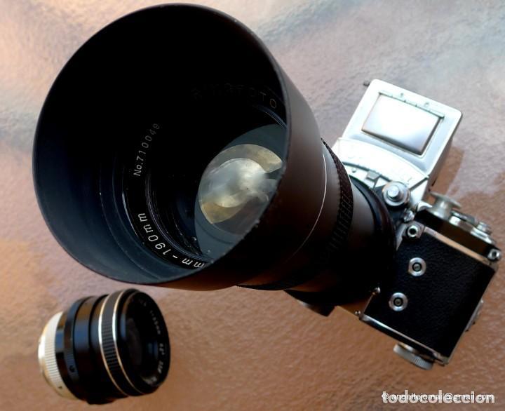 Cámara de fotos: EXAKTA VAREX CLÁSICA CON 35 MM MACRO.Mod. VX IIa + zoom 90-190 - Foto 16 - 252490080