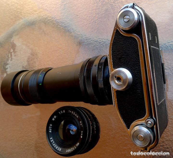 Cámara de fotos: EXAKTA VAREX CLÁSICA CON 35 MM MACRO.Mod. VX IIa + zoom 90-190 - Foto 17 - 252490080
