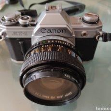 Cámara de fotos: EQUIPO FOTOGRAFÍA CANON ANALÓGICO. Lote 267198174
