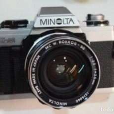 Fotocamere: MINOLTA XG M CON ROKKOR -MINOLTA 28 MM.. Lote 267226229