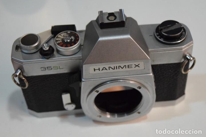 REFLEX A ROSCA M42, TOTALMENTE MECÁNICA HANIMEX 35 SL. JAPAN. (Cámaras Fotográficas - Réflex (no autofoco))