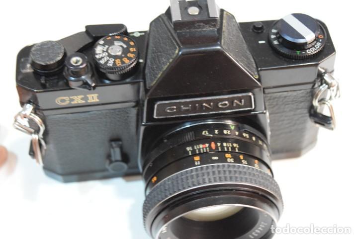 Cámara de fotos: Reflex Chinon FX2 con lente 50 mm.Mecánica - Foto 2 - 267350789