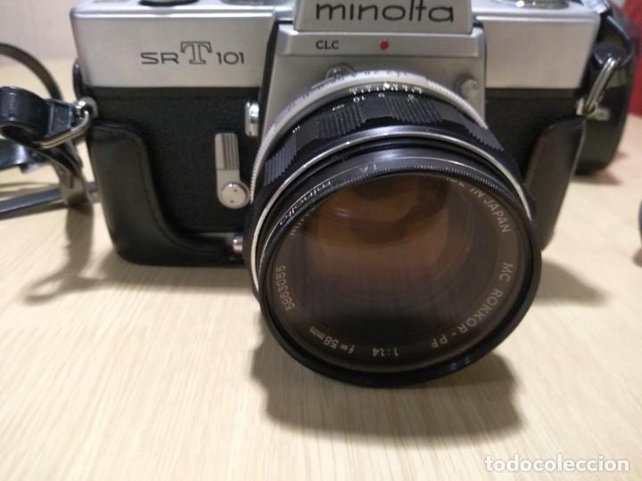 Cámara de fotos: Cámara fotográfica.Minolta SRT 101 - Foto 2 - 287847293