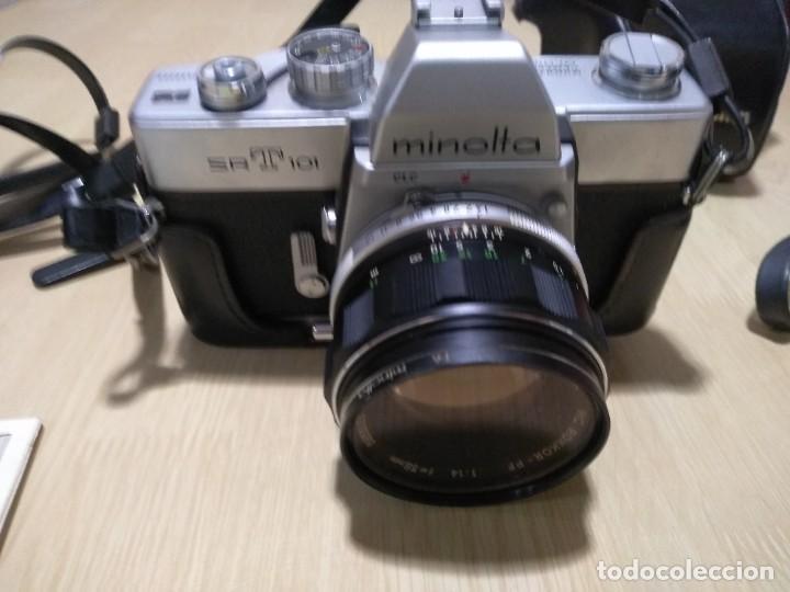 Cámara de fotos: Cámara fotográfica.Minolta SRT 101 - Foto 3 - 287847293