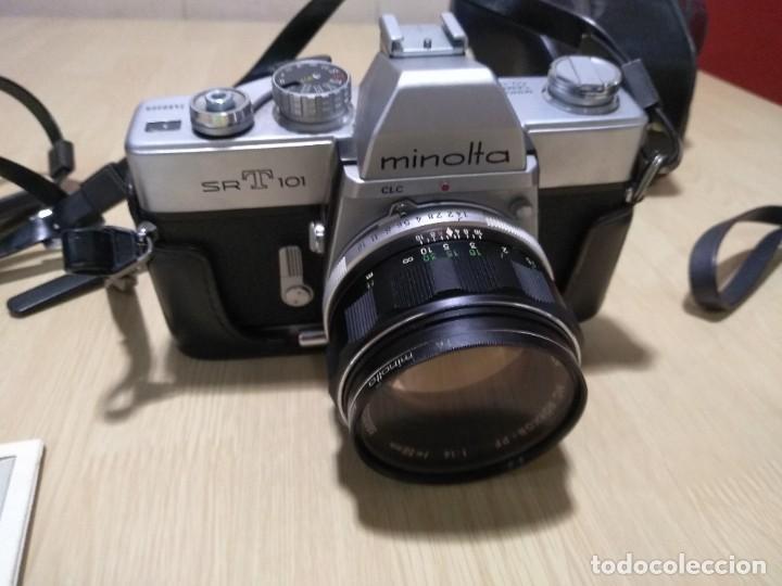 Cámara de fotos: Cámara fotográfica.Minolta SRT 101 - Foto 4 - 287847293