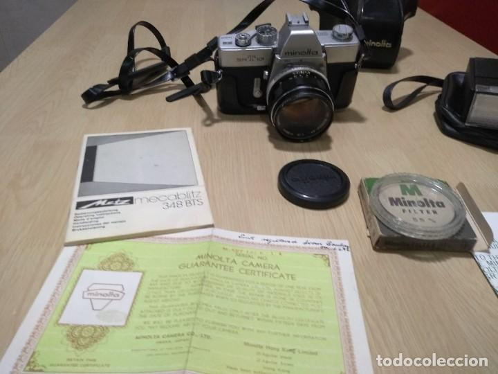 Cámara de fotos: Cámara fotográfica.Minolta SRT 101 - Foto 6 - 287847293