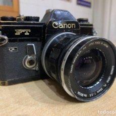 Cámara de fotos: CANON FT. Lote 269032094