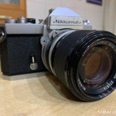Cámara de fotos: NIKKORMAT FT2 CON ZOOM 43 - 86 3.5. Lote 269038068