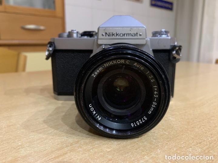 Cámara de fotos: NIKKORMAT FT2 CON ZOOM 43 - 86 3.5 - Foto 2 - 269038068