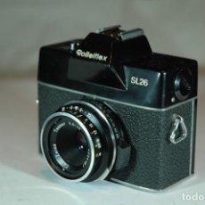 Cámara de fotos: CAMARA FORMATO 126 REFLEX ROLLEI SL26. Lote 269969358