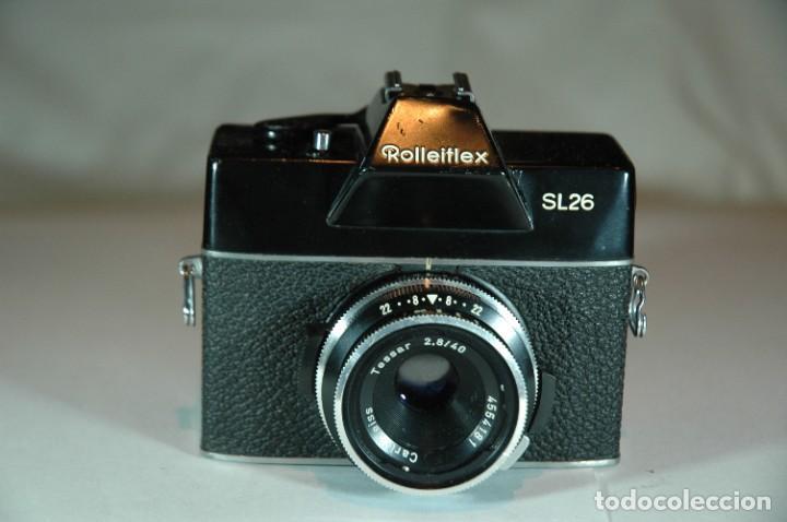 Cámara de fotos: CAMARA FORMATO 126 REFLEX ROLLEI SL26 - Foto 2 - 269969358