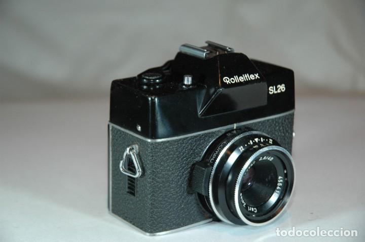 Cámara de fotos: CAMARA FORMATO 126 REFLEX ROLLEI SL26 - Foto 3 - 269969358