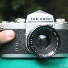 Cámara de fotos: SOLIGOR (MIRANDA SENSOMAT) TM + 50MM F:1,8. Lote 270860953