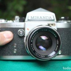 Cámara de fotos: CÁMARA MIRANDA SENSOMAT Y OBJETIVO 50MM F:1,8 MÁS TAPA.. Lote 270861273