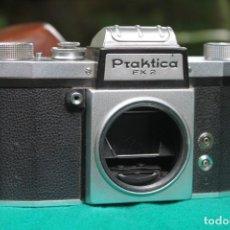 Cámara de fotos: CUERPO PRAKTICA FX2 + FUNDA DE CUERO. Lote 270862283