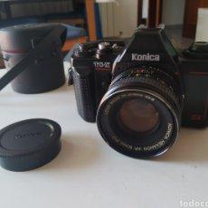 Cámara de fotos: CÁMARA FOTOGRÁFICA KONICA TC-X. DX. CON OBJETIVO, FUNDA Y BOLSA.. Lote 275867223