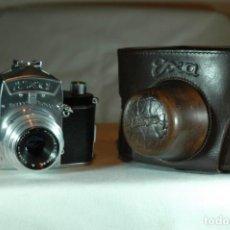 Cámara de fotos: CAMARA EXA TIPO 1,3 IHAGEE DRESDEN REFLEX DE 35 MM.. Lote 276392743
