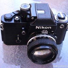Cámara de fotos: NIKON F2 A BLACK, CUERPO DE LATON .IMPECABLE. Lote 283672818