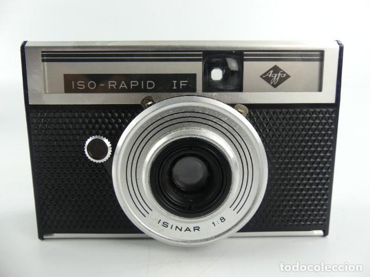 CAMARA DE FOTOS ANTIGUA AGFA ISO RAPID IF ISINAR 1:8 (Cámaras Fotográficas - Réflex (no autofoco))