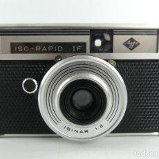 Câmaras de fotos: CAMARA DE FOTOS ANTIGUA AGFA ISO RAPID IF ISINAR 1:8. Lote 284813638
