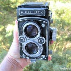 Cámara de fotos: CAMARA ROLLEIFLEX DBP DBGM EN PERFECTO ESTADO SIN USO, SALE DE COLECCIÓN PRIVADA. CON PROTECTORES. Lote 286706603