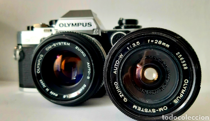 Cámara de fotos: CÁMARA RÉFLEX ANALÓGICA OLYMPUS OM10 - Foto 2 - 288581443