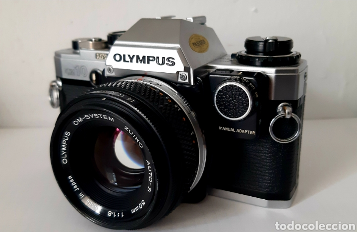 CÁMARA RÉFLEX ANALÓGICA OLYMPUS OM10 (Cámaras Fotográficas - Réflex (no autofoco))