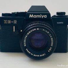 Cámara de fotos: MAMIYA ZE-2. Lote 288929988
