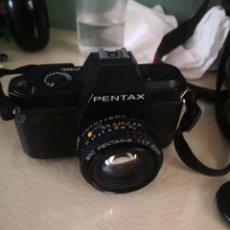 Cámara de fotos: PENTAX NOED Y SU FUNDA. Lote 289669573