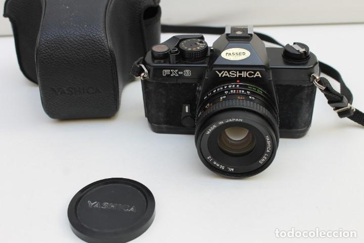 CAMARA FOTOGRAFICA YASHICA , FX-3 (Cámaras Fotográficas - Réflex (no autofoco))