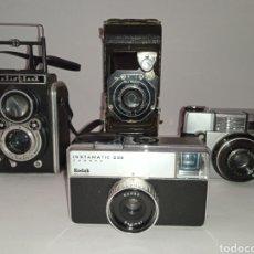 Cámara de fotos: LOTAZO!!! CAMARAS ANTIGUAS VINTAGE. Lote 295332498