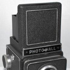 Cámara de fotos: UNICA Y EXCLUSIVA.OCASION..REFLEX BIFOCAL (TLR)..PHOTO-HALL (FRANCIA 1950).FUNCIONA..MUY BUEN ESTADO. Lote 295591423