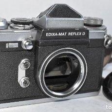 Cámara de fotos: RARA CAMARA TELEMETRICA..WIRGIN EDIXA MAT REFLEX D..ALEMANIA 1966..MUY BUEN ESTADO..SOLO CUERPO. Lote 296614828