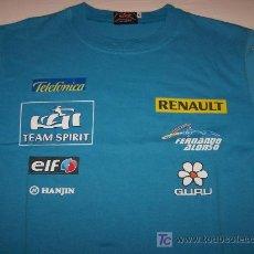 Coleccionismo deportivo: CAMISETA FERNANDO ALONSO - GURU - RENAULT. Lote 178209327