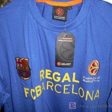 Coleccionismo deportivo: REGAL FC BARCELONA. BALONCESTO. CAMISETA EUROLEAGUE. PRODUCTO OFICIAL. MUY DIFICIL. Lote 27227717