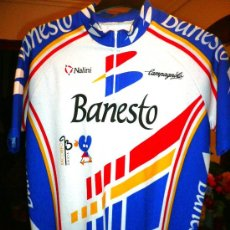 Coleccionismo deportivo: MAILLOT OFICIAL EQUIPO BANESTO - MIGUEL INDURAIN - 1993 TALLA XL. Lote 28558942