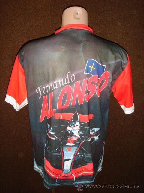 Coleccionismo deportivo: CAMISETA AUTOMOVIL FERNANDO ALONSO REPLICA MADE IN ITALY FORMULA 1 - Foto 2 - 30967611