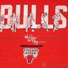 Coleccionismo deportivo: CHICAGO BULLS ** MICHAEL JORDAN ** CAMISETA L BALONCESTO ** AÑOS 90 ** SPALDING ** VINTAGE. Lote 32794535