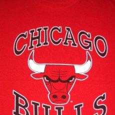 Coleccionismo deportivo: CHICAGO BULLS ** MICHAEL JORDAN ** CAMISETA L BALONCESTO ** AÑOS 90 ** SWINGSTER ** VINTAGE. Lote 32794694