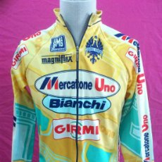 Coleccionismo deportivo: MAILLOT O CAMISETA DE CICLISMO MERCATONE UNO - GIRO DE ITALIA 1998. MANGA LARGA.. Lote 34076123