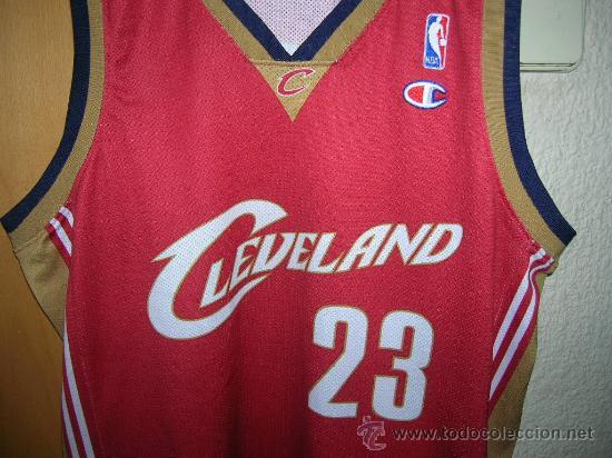 promo code 35c19 08df4 Nba camiseta original cleveland marca champion - Sold ...