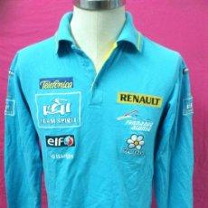 Coleccionismo deportivo: CAMISETA POLO OFICIAL RENAULT ORIGINAL FERNANDO ALONSO.. Lote 35737710