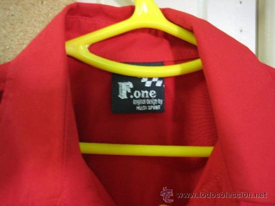 Coleccionismo deportivo: Camisa de Ferrari, Michael Schumacher.De hombro a hombro 58 cm - Foto 3 - 38615735
